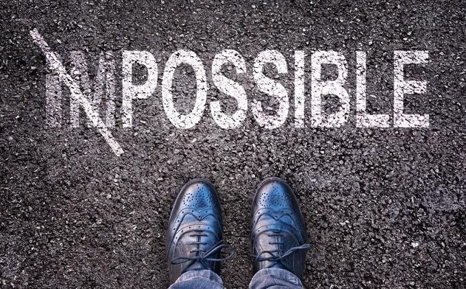 不可能を可能にする